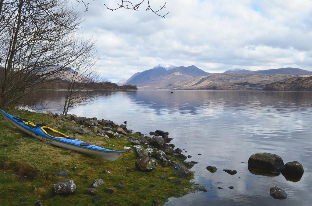 Kayaking on Loch Etive