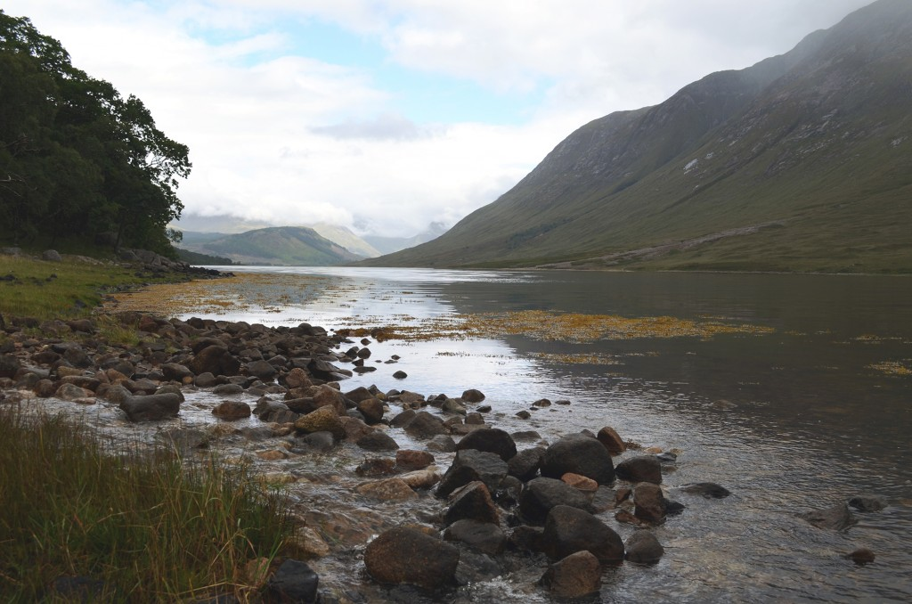 View to the head of the loch